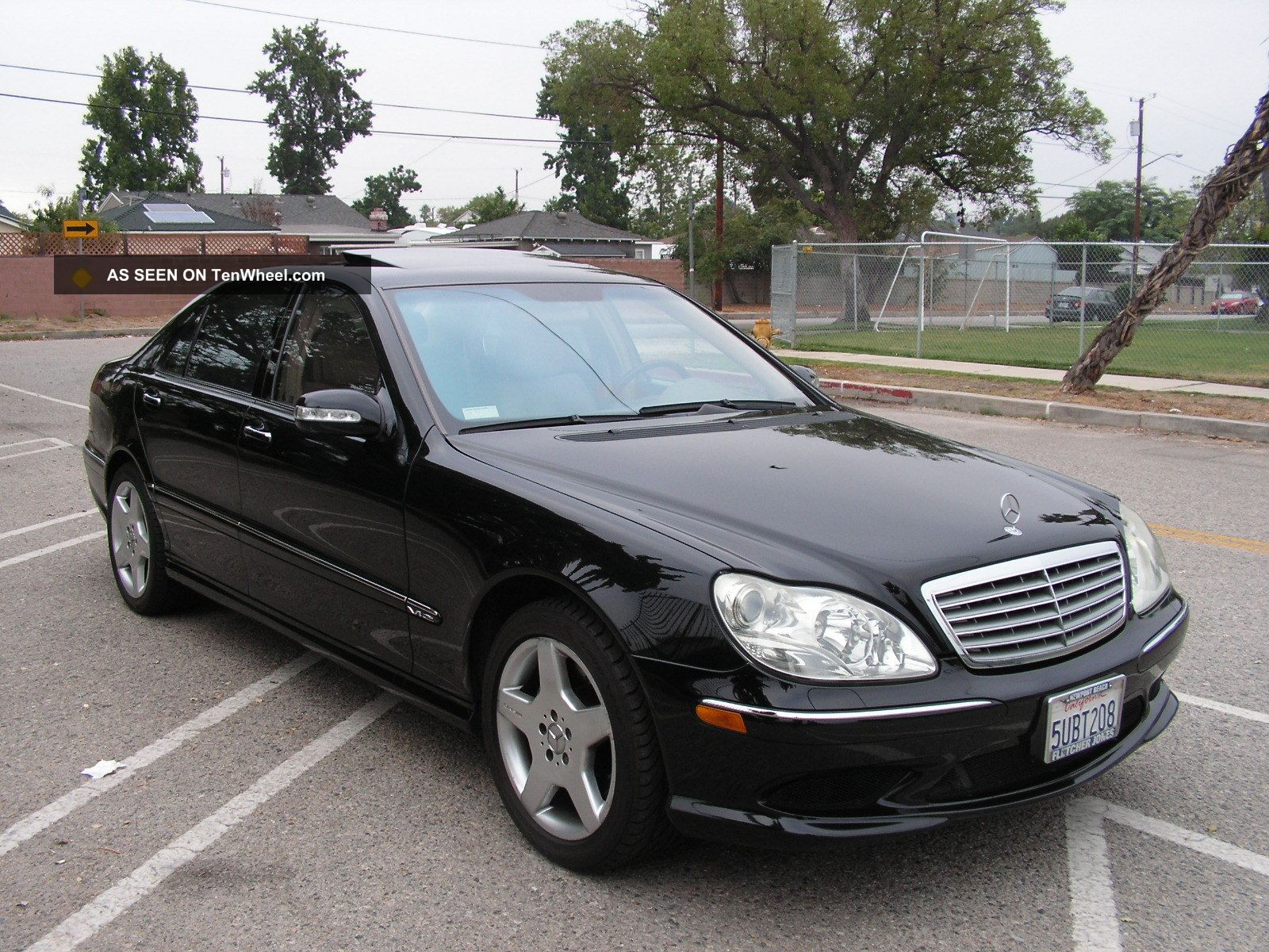 2003 Mercedes Benz S600 Amg Twin Turbo,  493hp,  590tq,  Exquisite Luxury Sedan S-Class photo