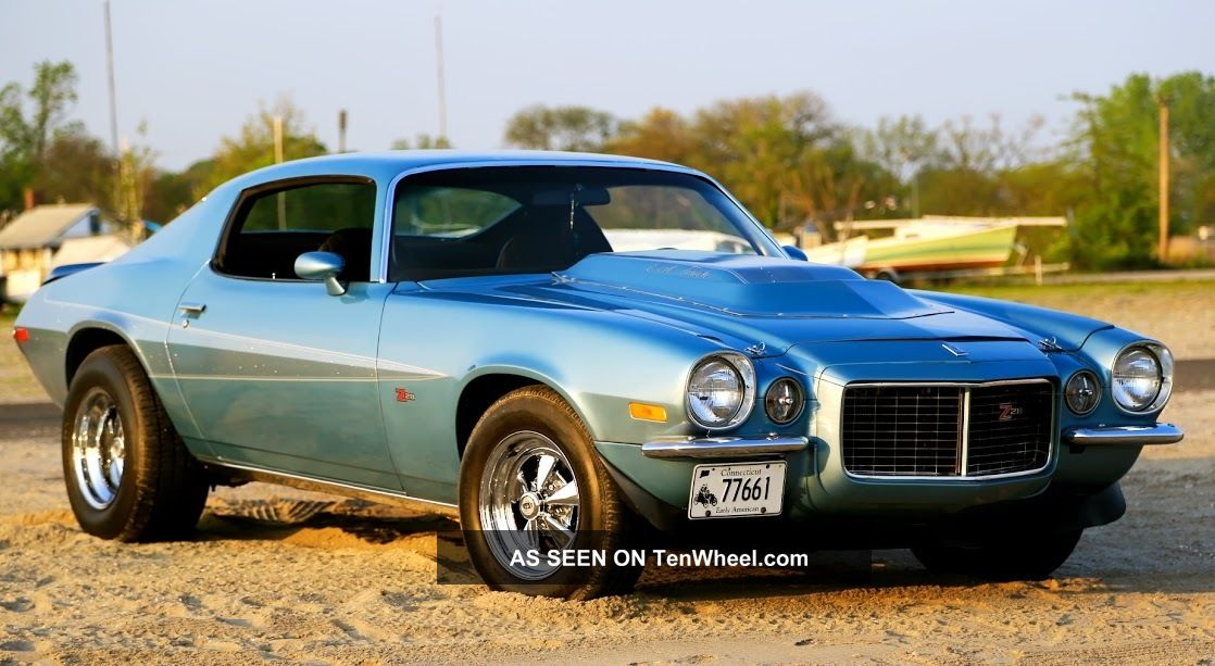 1973 chevrolet camaro z28 - photo #27