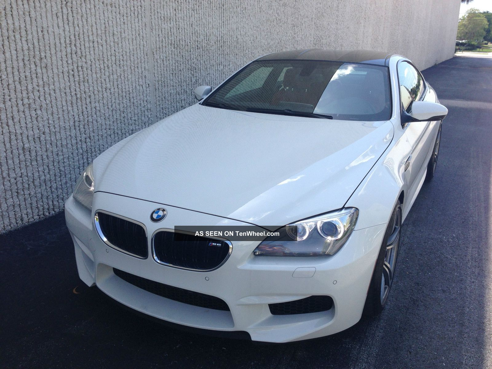 2013 Bmw M6 Alpine White / Sakir Loaded And Hot M5 Cl Bentley Gt M3 M6 photo