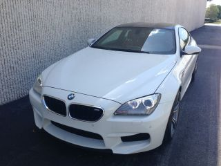 2013 Bmw M6 Alpine White / Sakir Loaded And Hot M5 Cl Bentley Gt M3 photo