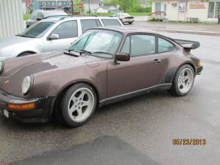 Porsche 1982 Turbo Brown photo