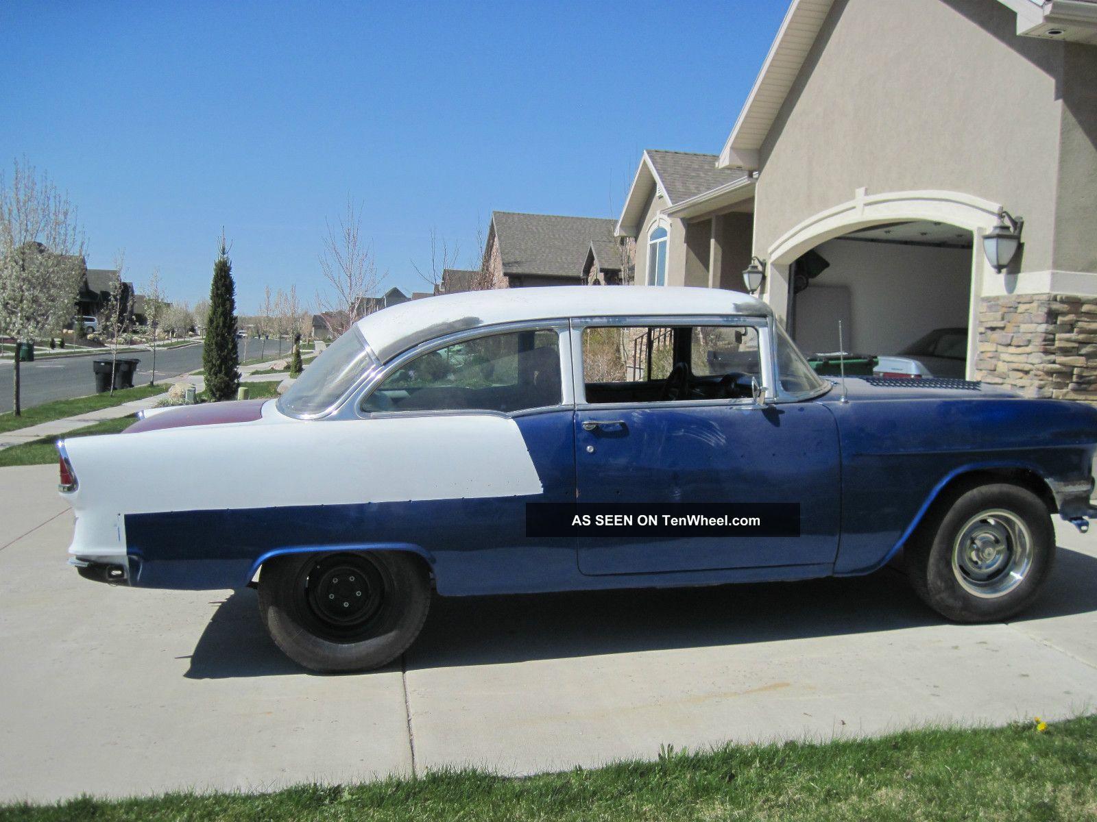 1955 Chevrolet Belair 2 Door Sedan Bel Air/150/210 photo