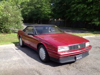1993 Cadillac Allante Value Leader Convertible 2 - Door 4.  6l photo