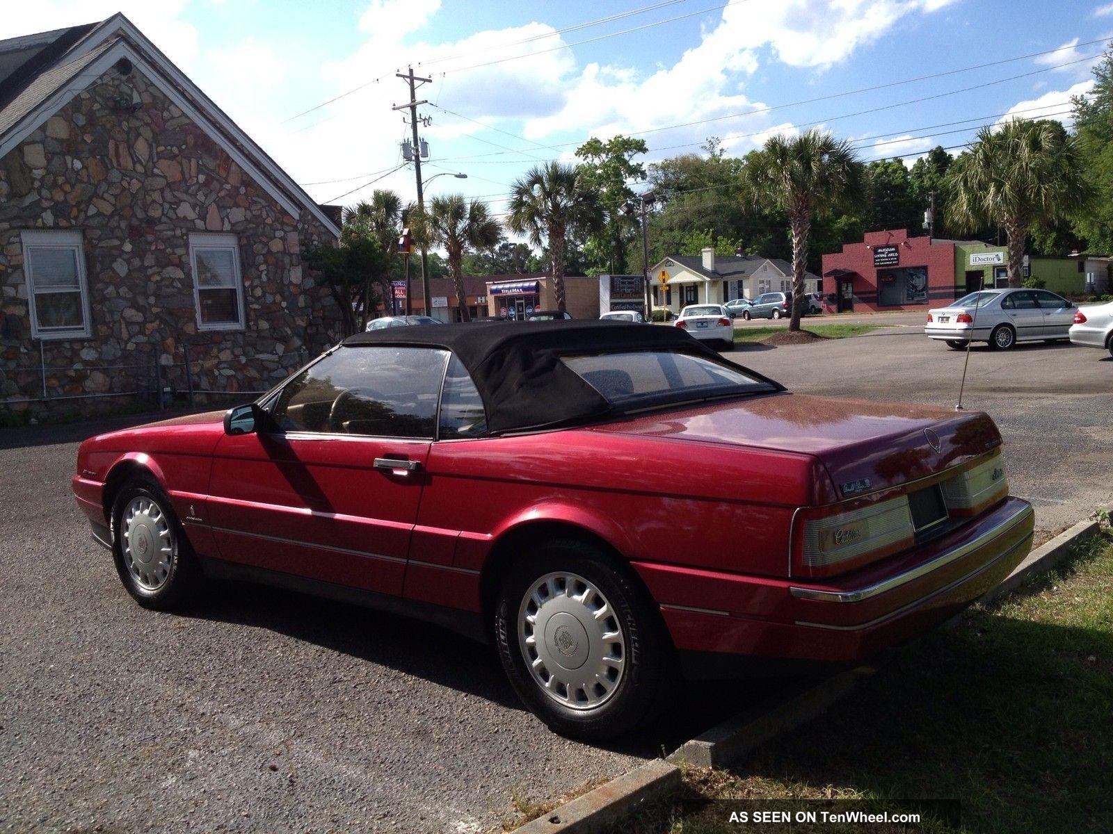 1993 Cadillac Allante Value Leader Convertible 2 - Door 4. 6l