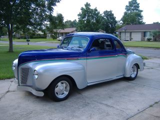1940 Custom Plymouth Coupe,  Professionally 2009 photo