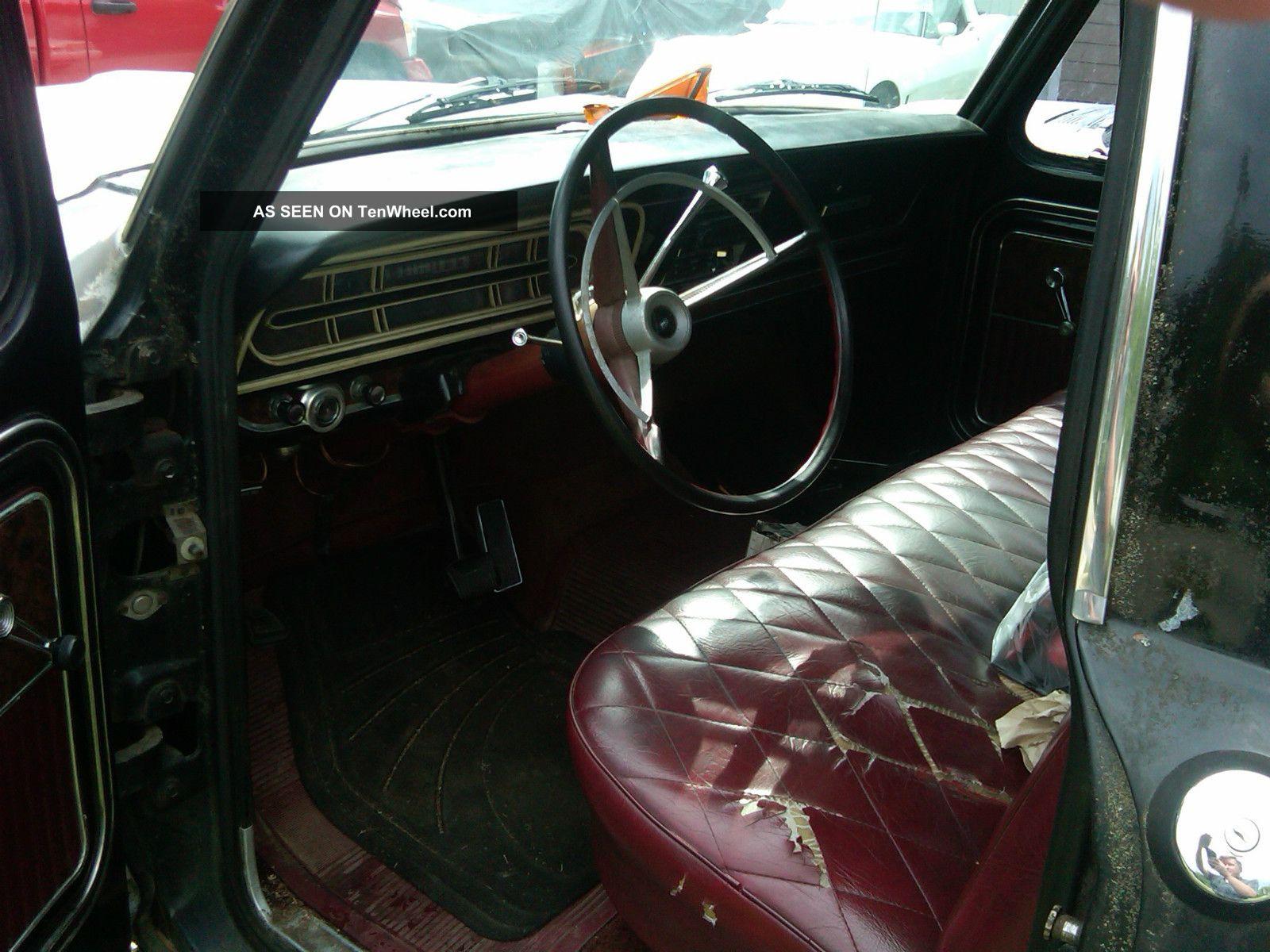 1970 Ford Ranger Xlt Shortbed F100