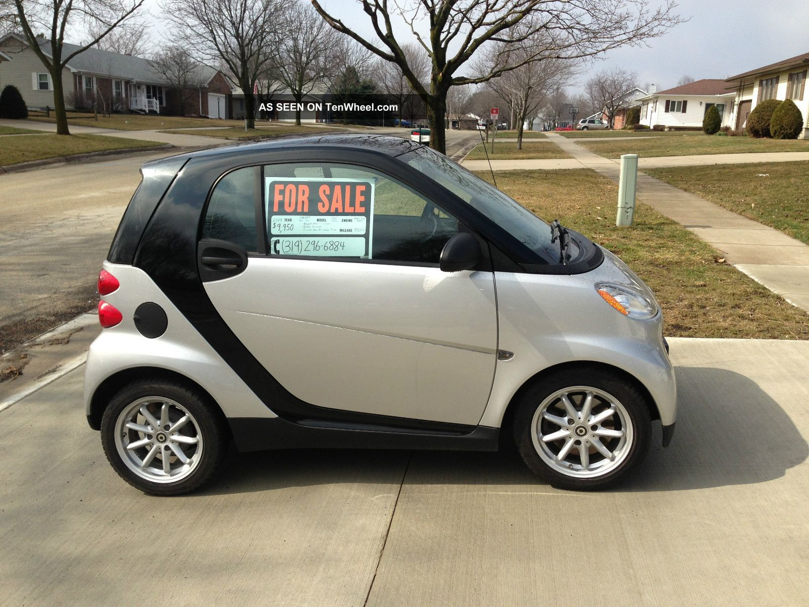 2008 smart fortwo passion coupe 2 door 1 0l. Black Bedroom Furniture Sets. Home Design Ideas