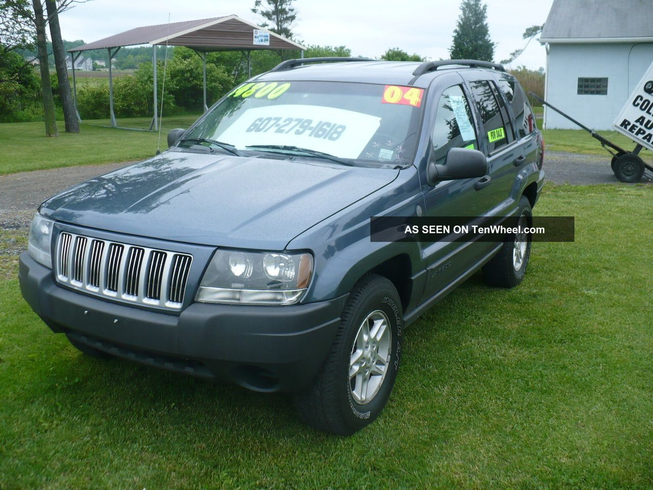 2004 jeep grand cherokee laredo 4x4 loaded all power cd player no rust. Black Bedroom Furniture Sets. Home Design Ideas