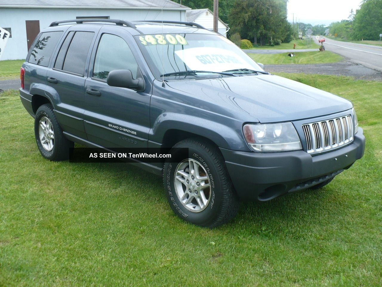 2004 jeep grand cherokee laredo 4x4 loaded all power cd. Black Bedroom Furniture Sets. Home Design Ideas