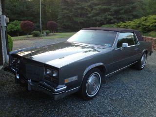 1985 Cadillac Eldorado - - A photo