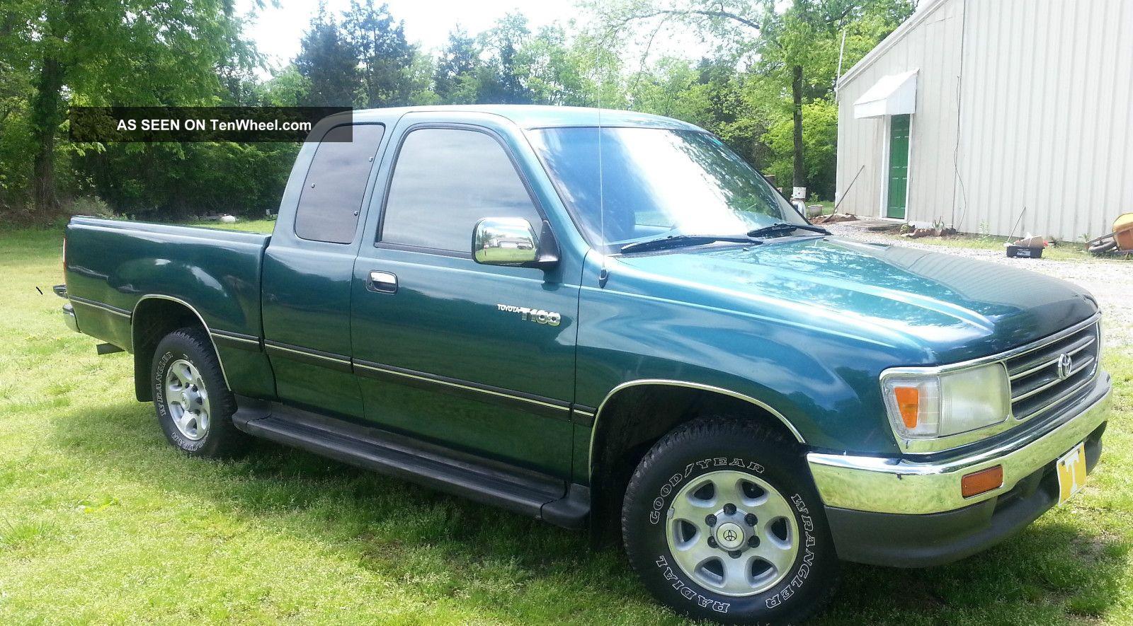 Toyota T Base Extended Cab Pickup Door L Lgw on 1998 Dodge Dakota 4 Door