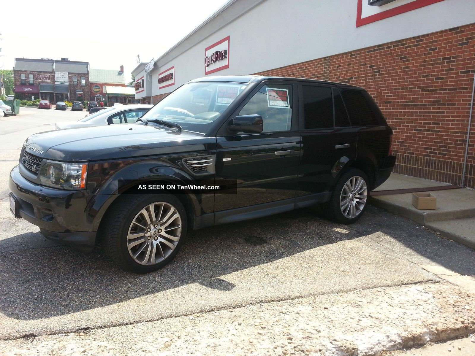 2010 Range Rover Sport Hse - Black W / Almond Premium - Many Options Range Rover Sport photo