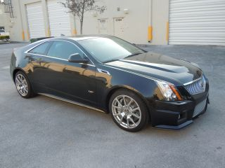 2012 Cadillac Cts V Coupe 6.  2l V8 556 Hp - Black photo