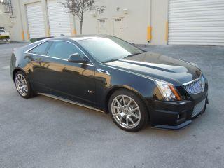 2012 Cadillac Cts V Coupe 6.  2l V8 556 Hp - Black photo