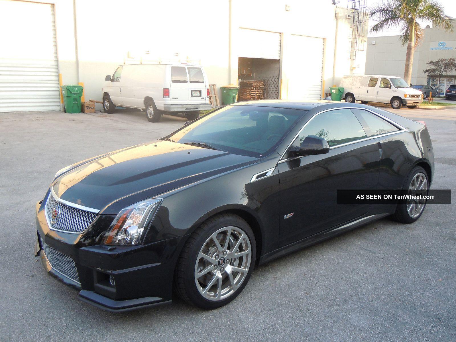 2012 cadillac cts v coupe 6 2l v8 556 hp black. Black Bedroom Furniture Sets. Home Design Ideas