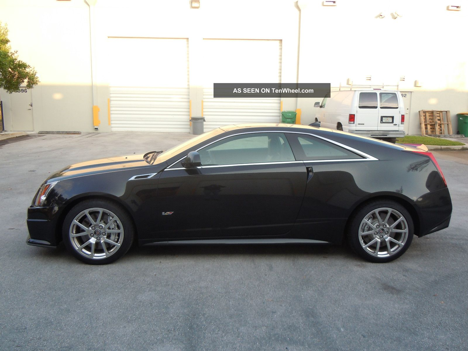 2012 Cadillac Cts V Coupe 6 2l V8 556 Hp Black