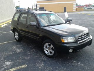 2003 Subaru Forester Awd Automatic Black 4 Door Suv And Fully Loaded photo