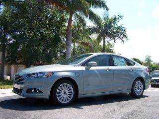 2013 Ford Fusion Energi Hybrid Electric Ice Storm Wth photo