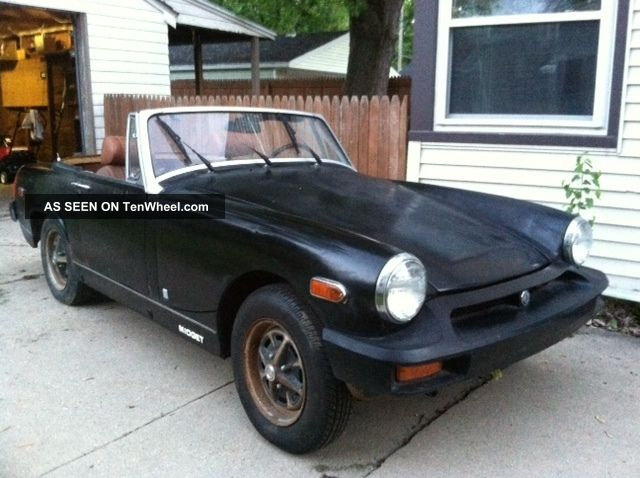1977 Mg Midget. .  Terrific Shape. . .  Ready For A Full Resto. . .  Everything Is Here Midget photo
