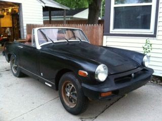 1977 Mg Midget. .  Terrific Shape. . .  Ready For A Full Resto. . .  Everything Is Here photo