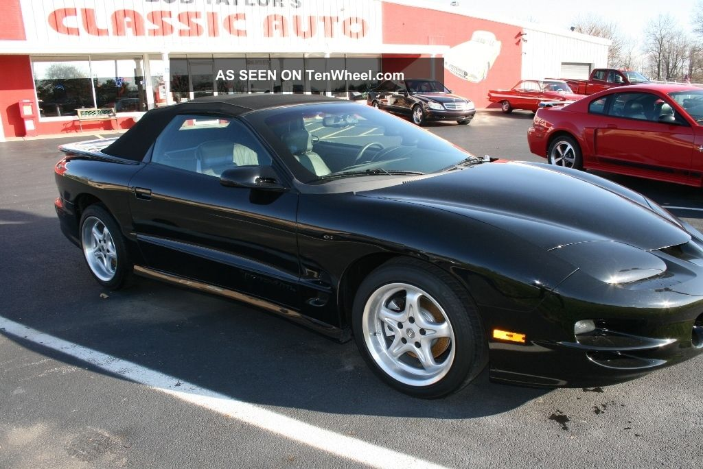 1998 pontiac firebird ta convertible. Black Bedroom Furniture Sets. Home Design Ideas