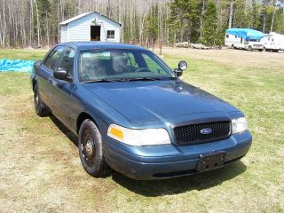 2005 Ford Crown Victoria Police Intercepter 4.  6 Ltr.