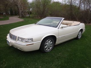 1996 Cadillac Eldorado Convertible 2 - Door 4.  6l photo