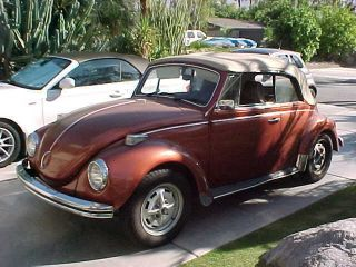 Classic 1971 Volkswagen Karman Edition Bug Convertible photo