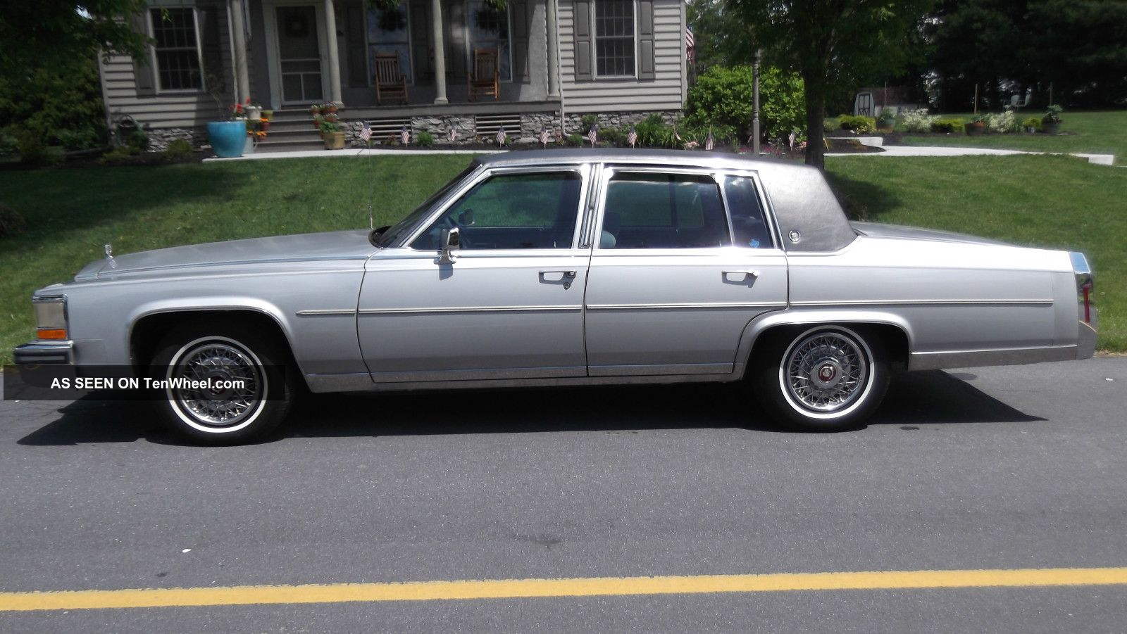 1988 cadillac fleetwood brougham fleetwood photo. Cars Review. Best American Auto & Cars Review