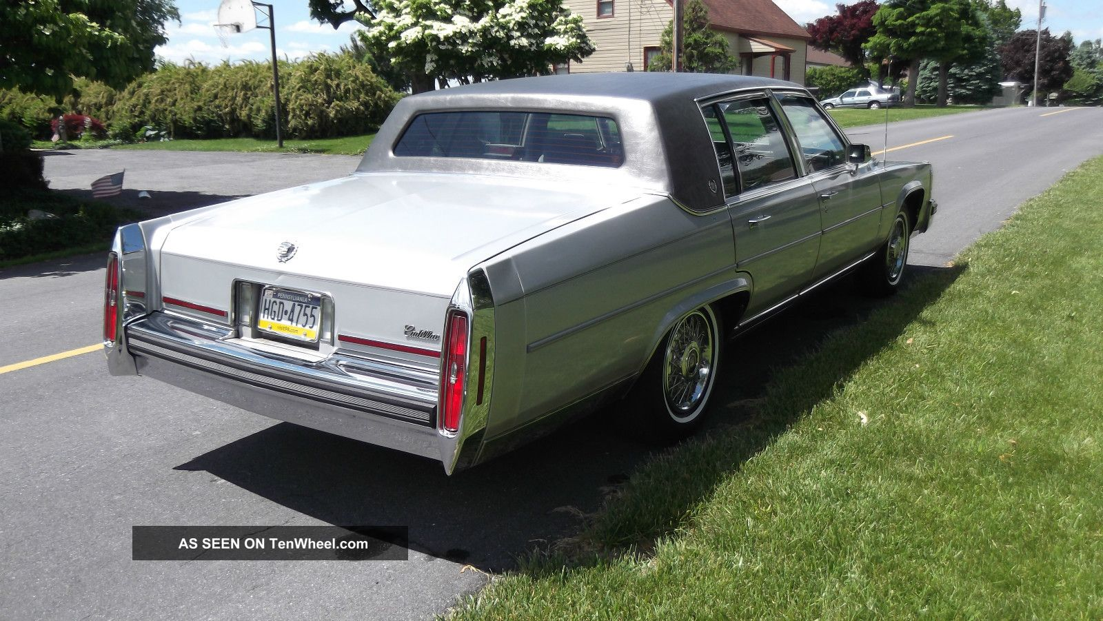 1988 cadillac fleetwood brougham fleetwood photo 4. Cars Review. Best American Auto & Cars Review