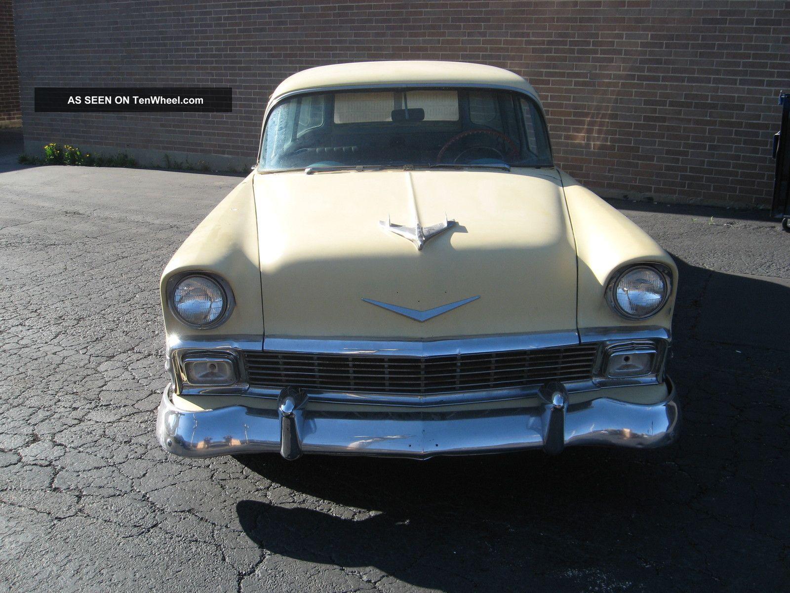 1956 Chevy 210 Four Door Wagon Bel Air/150/210 photo