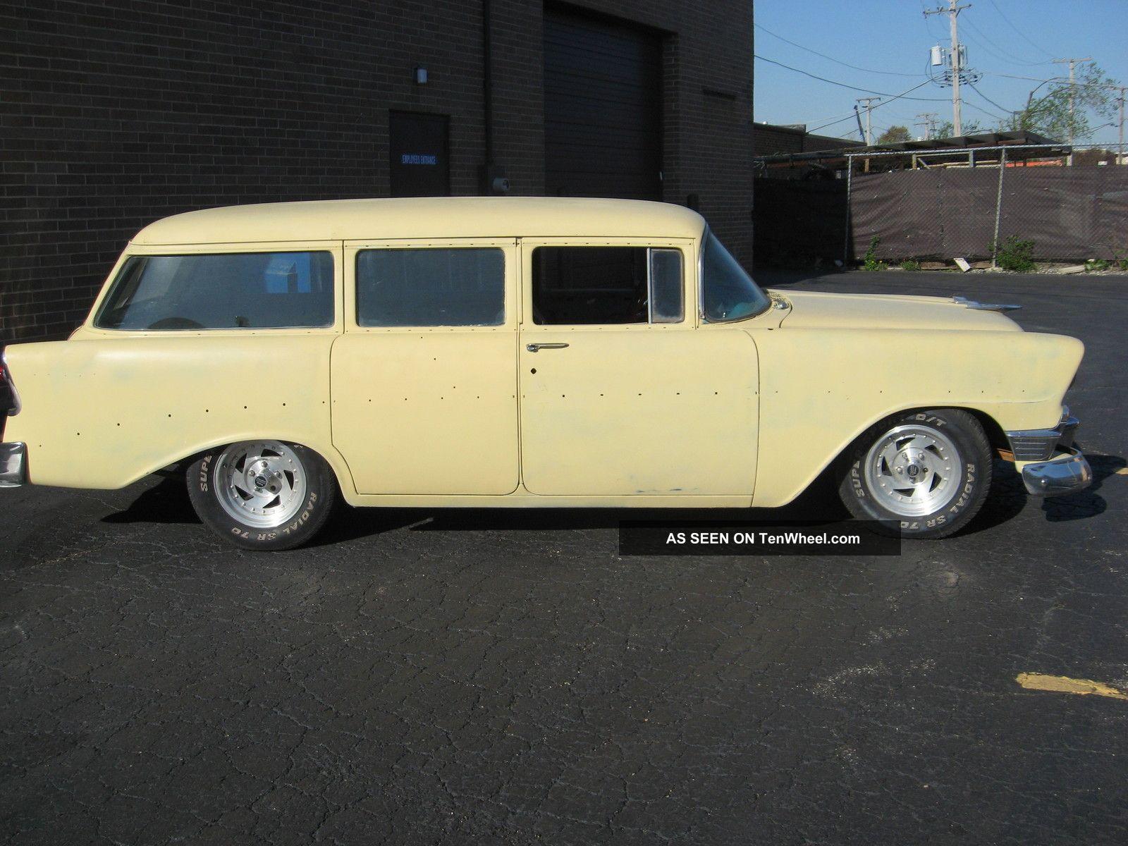 1956 chevy 210 four door wagon for 1956 chevy wagon 4 door