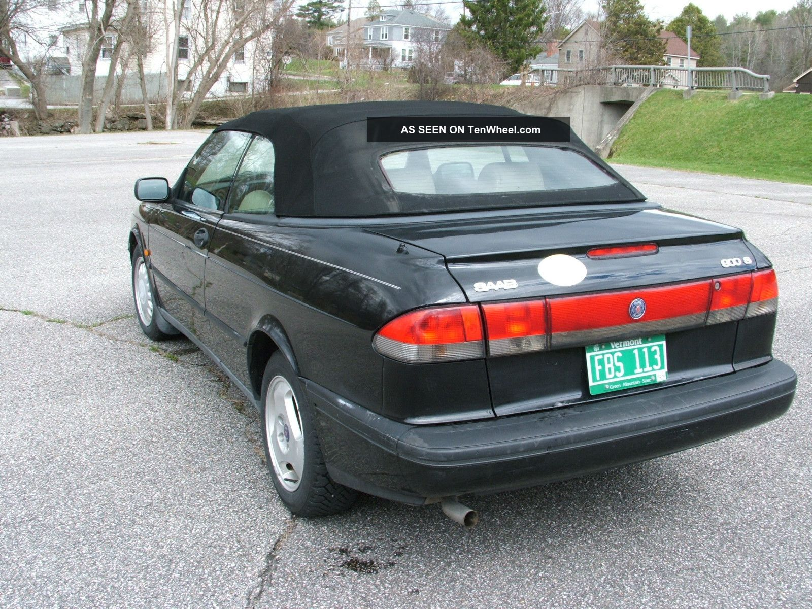 1996 saab 900 s convertible 2 door 2 3l. Black Bedroom Furniture Sets. Home Design Ideas