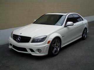 2009 Mercedes - Benz C63 Amg Base Sedan 4 - Door 6.  3l photo