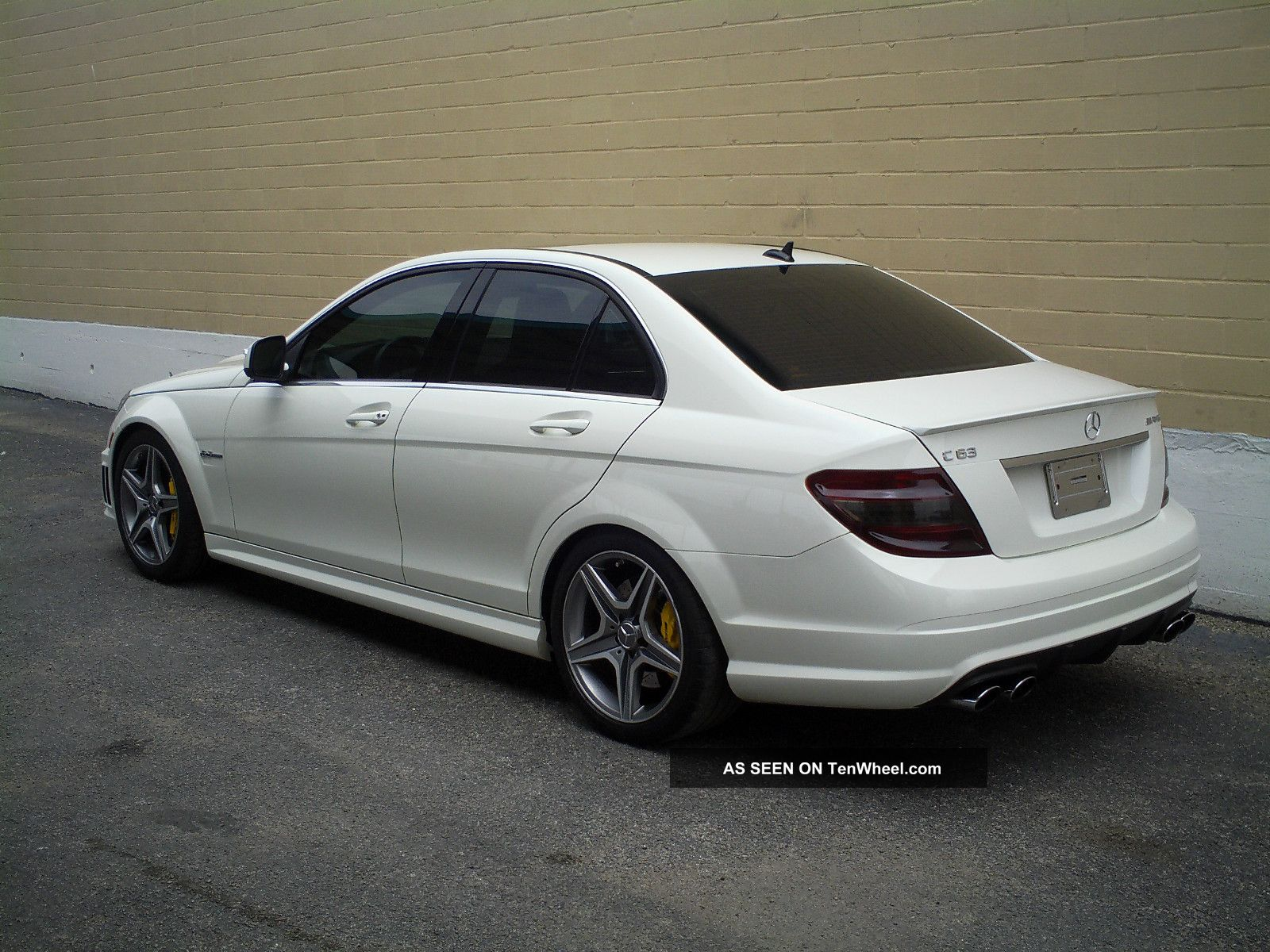 2009 mercedes benz c63 amg base sedan 4 door 6 3l