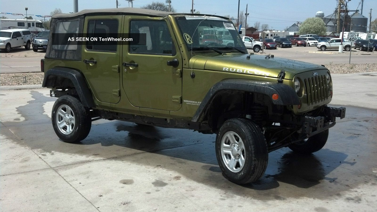 2008 jeep wrangler unlimited rubicon 4 dr automatic wrangler photo 1. Cars Review. Best American Auto & Cars Review
