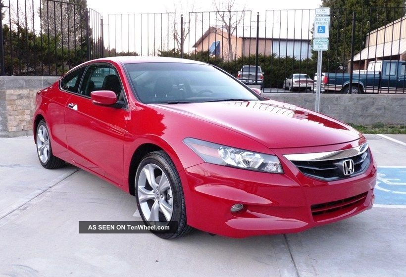 2012 Honda Accord Ex - L Coupe 2 - Door 3.  5l Accord photo