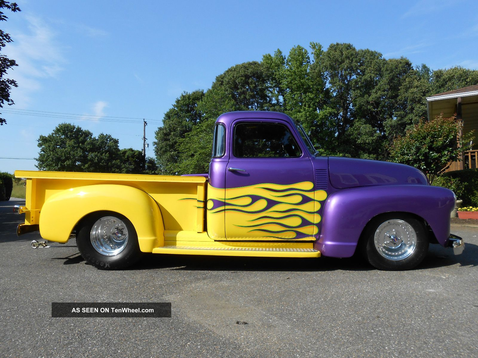1948 chevy 3100 5 window pickup