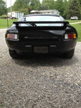 1984 Porsche 928s Black V8 Automatic photo