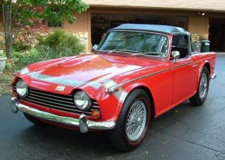 1968 Triumph Tr250 Project photo