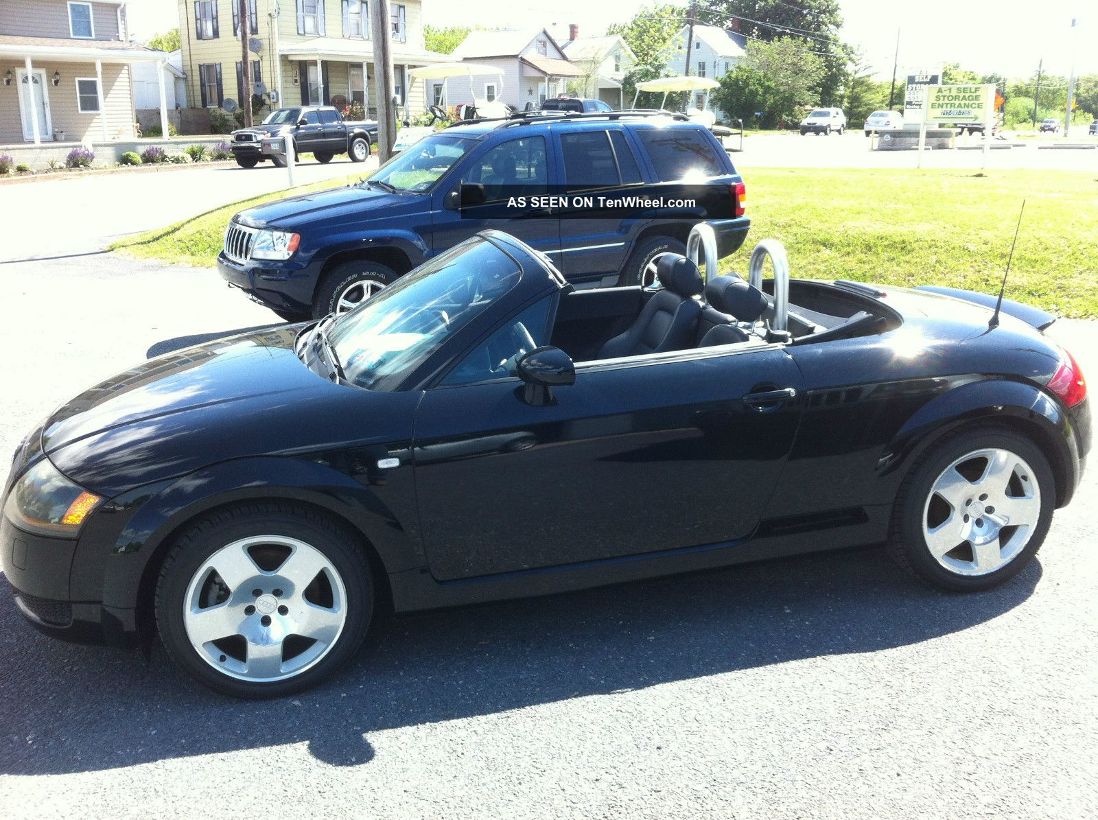 2001 audi tt quattro awd convertible 225 hp 6 speed bose. Black Bedroom Furniture Sets. Home Design Ideas