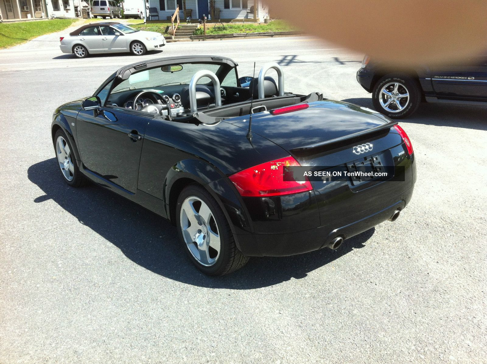 2001 audi tt quattro awd convertible 225 hp 6 speed bose sound system. Black Bedroom Furniture Sets. Home Design Ideas