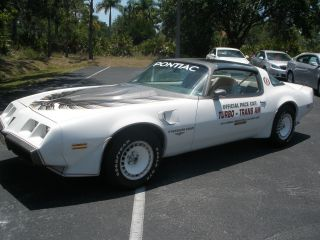 1980 Pontiac Transam Indy Pace Car 4.  9l Turbo Coupe photo