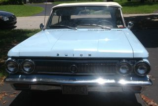 1963 Buick Skylark Convertible Survivor 48,  783 Org Mi photo