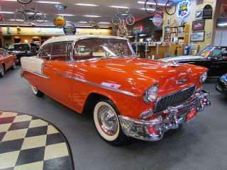 1955 Chevrolet Bel Air Base Hardtop 2 - Door 4.  3l photo