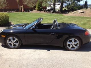 2000 Porsche Boxster Black On Black photo