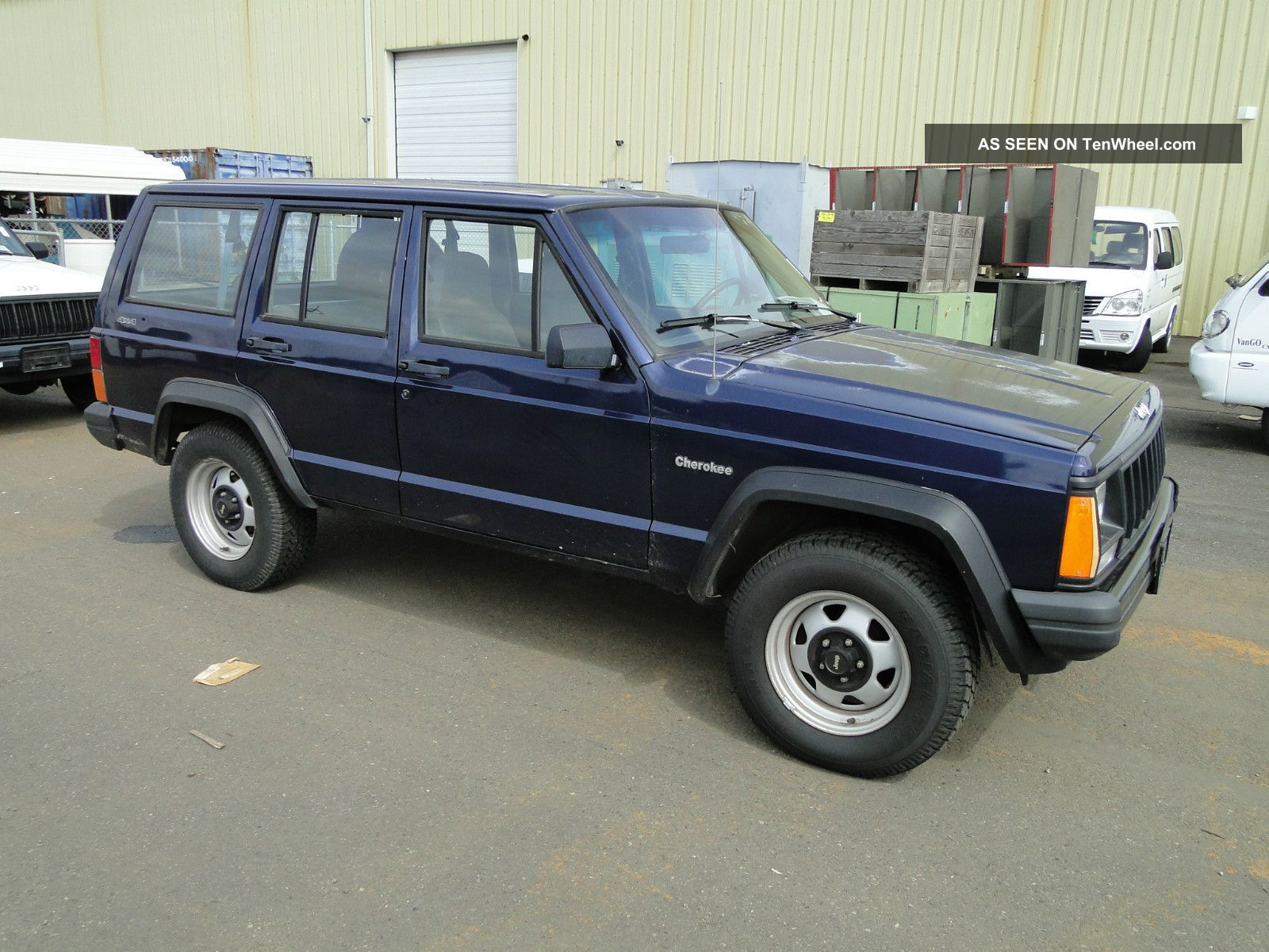 1996 Jeep Cherokee Se 4 - Door 4wd Cherokee photo