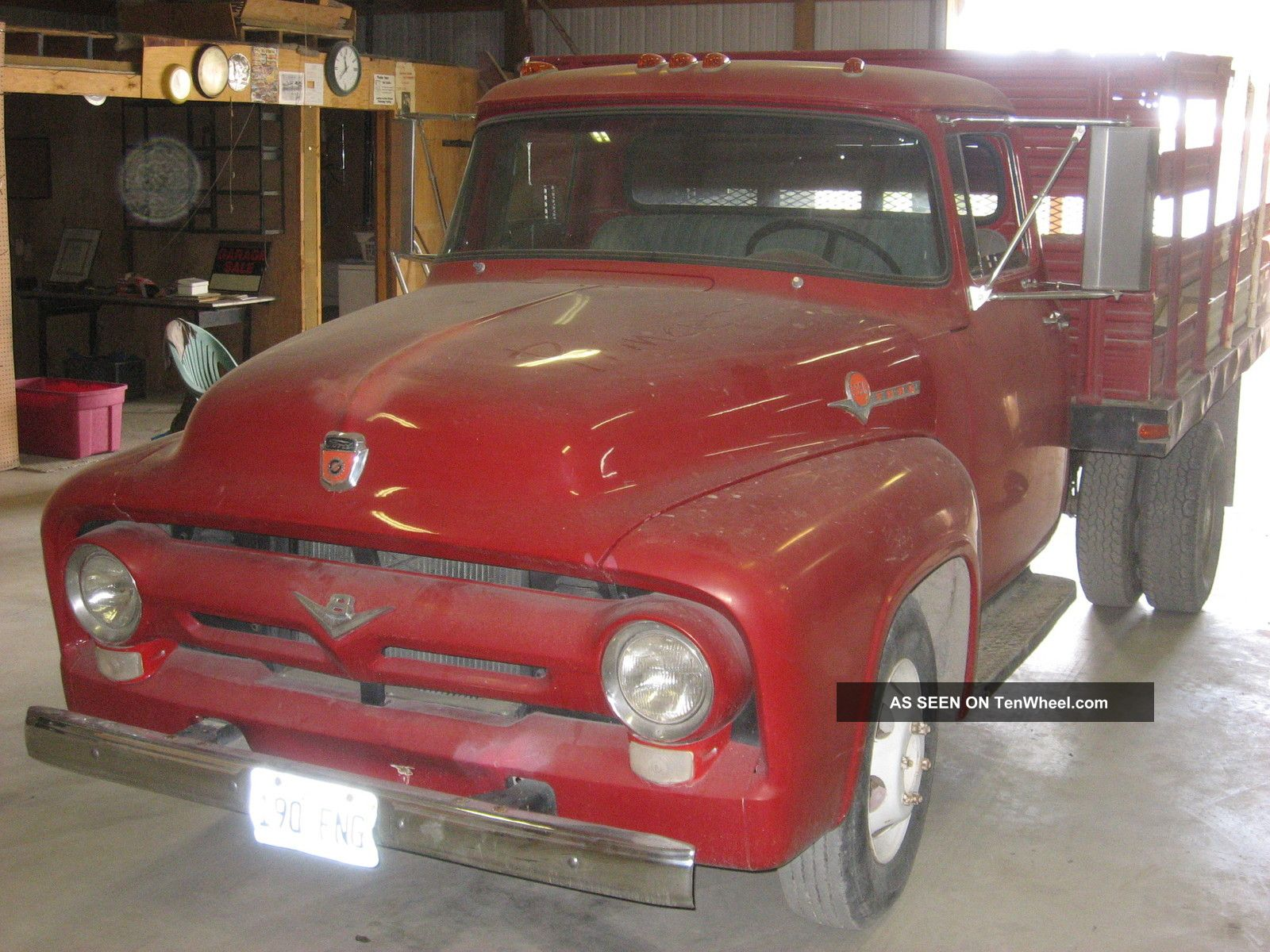 1956 F350 Flat Bed Dump Other Pickups photo