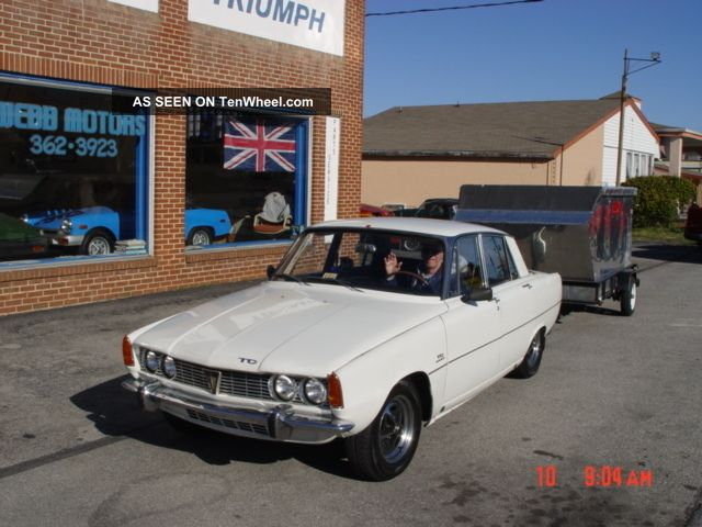 1967 Rover Tc 2000 Other Makes photo