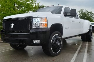 2009 Chevrolet Silverado 3500 Hd Ltz Loaded Semi Wheels K40 Ppe Rbp Awesome photo